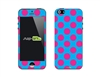 SASKIN488241 polka dots Phone Vinyl Skin Decal Sticker