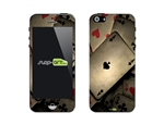 SASKIN488245 poker playing cards Phone Vinyl Skin Decal Sticker