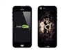 SASKIN488250 Skull Phone Vinyl Skin Decal Sticker
