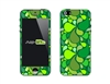 SASKIN488255 green flowers Phone Vinyl Skin Decal Sticker