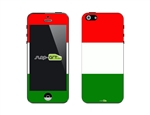 SASKIN488256 Italy Flag  Phone Vinyl Skin Decal Sticker
