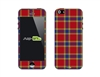 SASKIN488257 Plaid Phone Vinyl Skin Decal Sticker