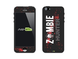 SASKIN488258 zombie hunter Vinyl Skin Decal Sticker