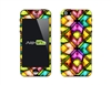 SASKIN488801 crystal colors Phone Vinyl Skin Decal Sticker