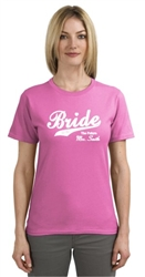 Bride to be...The future Mrs.  personalized t-shirt