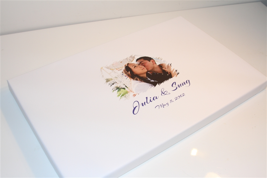 Canvas Guest books - guest book alternative, wedding guest book ...