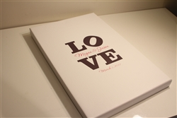 Thumbprint Fingerprint Wedding Canvas Guest book S9x38824 Love - Guest book alternative for weddings, birthdays, baby showers, and more!
