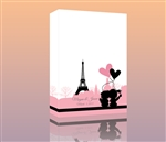 Thumbprint Fingerprint Wedding Canvas Guest book S9x38830 Eiffel Tower Love - Guest book alternative for weddings, birthdays, baby showers, and more!