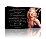 Marilyn Monroe I believe GALLERY WRAPPED CANVAS
