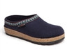 Haflinger - Grizzley classic clog - NAVY