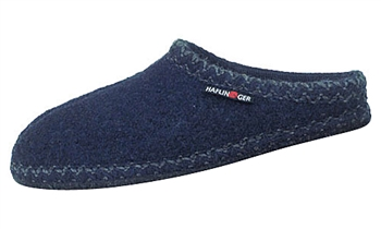Haflinger - Soft sole slippers - NAVY
