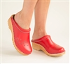 Troentorp Clogs - O'Keefe - available Red, Black, Navy Blue