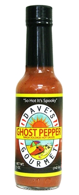 Ghost Pepper Jolokia Sauce