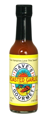 Roasted Garlic Hot Sauce