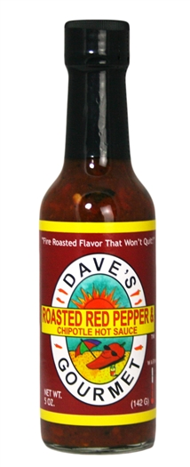 Roasted Red Pepper & Chipotle Hot Sauce