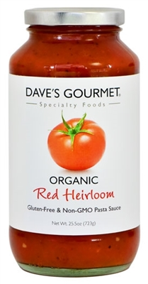 Organic Red Heirloom Pasta Sauce