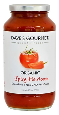 Organic Spicy Heirloom Marinara Pasta Sauce