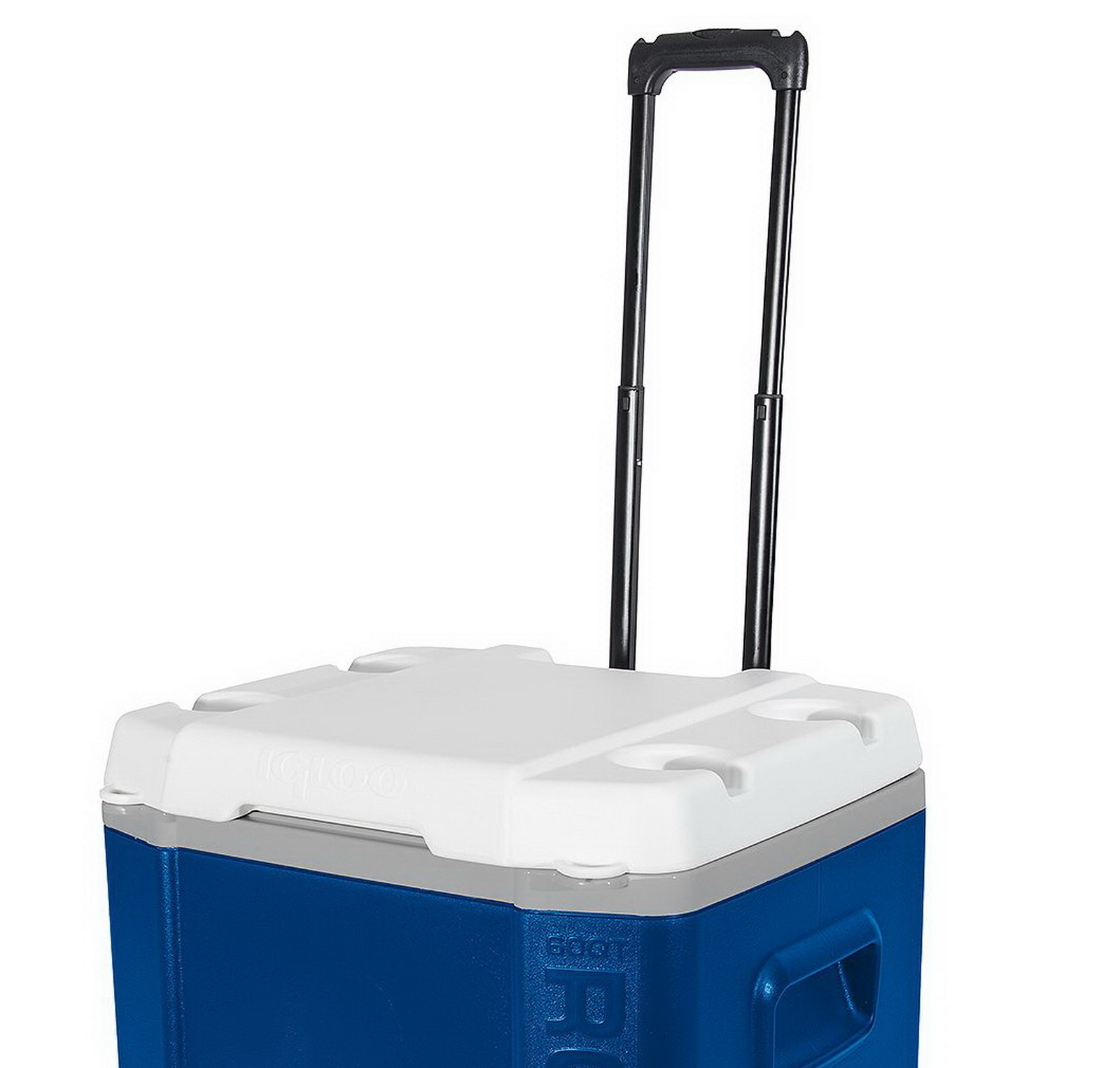 igloo cooler 60 quart large capacity roller rolling ice chest