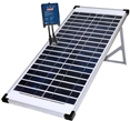 Home or camp solar panel power kit
