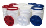 Set of Ten Big 6 Storage Buckets
