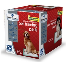 Puppy Pads CleanPaw Top Sheet helps prevent tracking and QuickDry Technology helps control odors