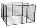 Modular Kennel - Tall 10' L x 10'W x 6'H