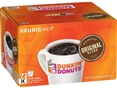 Dunkin' Donuts Medium Roast Single Serve Coffee for Keurig, Original Blend, 72 Cups