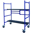 Pro-Series Roll And Fold Mini Scaffold Portable 500 lb Capacity