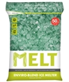 Snow Ice Melt Rock Salt TWO 50 Lb Enviro-Blend Ice Melter with CMA