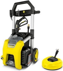"1.2 GPM 1800 PSI Electric Pressure Washer w/ 11"" Surface Cleaner Karcher"