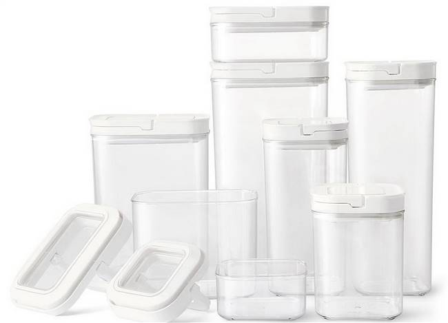 8 pc Food Storage Container Set