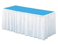 "Table Skirting 29"" x 14' White"