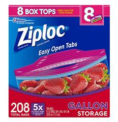 Ziploc Bags Storage Freezer Slider Gallon Quart Slider Sandwich Baggies