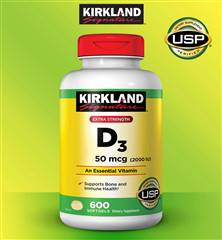 Vitamin D3 600 Softgels 50 mcg