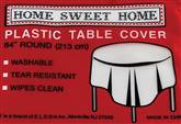 6 Rectangular Table Covers Plastic Tablecloth