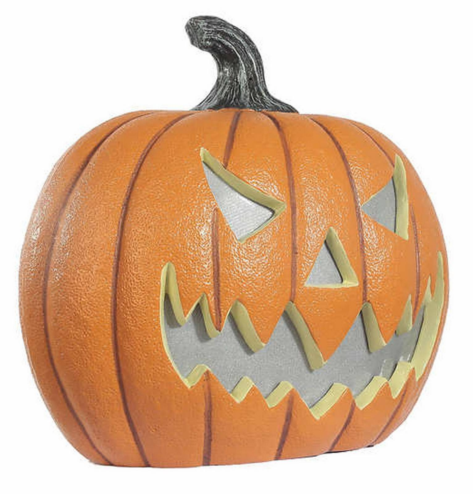 "17"" LED Light Up Halloween Decoration Pumpkin with Lights Sounds"