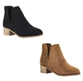 Women's Vegan Leather Ankle Boot