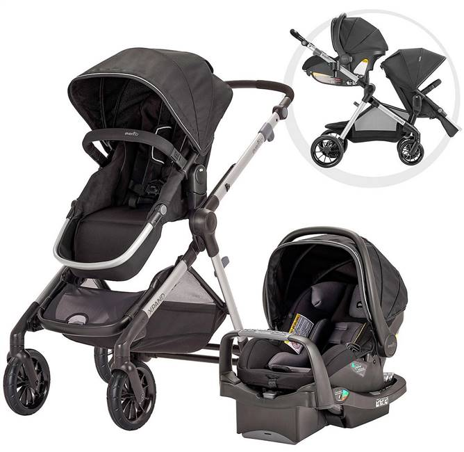 Evenflo Pivot Xpand Infant Travel System