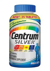 Centrum Silver Men 275 Tablets Multivitamin Multimineral