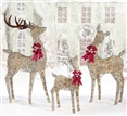 Outdoor Christmas Decoration LED Deer Family Set of 3