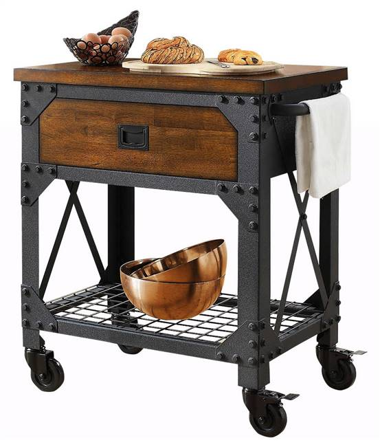 Whalen Vintage Kitchen Cart