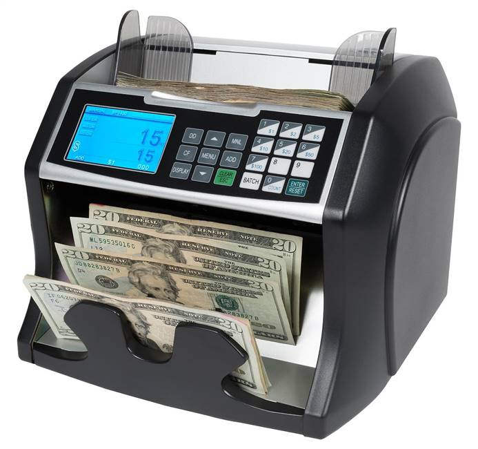 Royal Sovereign Bill Counter with Counterfeit Detection