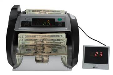 Bill Counter Counterfeit Detection 1000 bills per minute