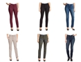 Bandolino Amy Womens Straight Leg Denim Pants