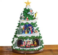 Disney Animated ChristmasTree with Music