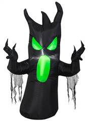Pre Lit Inflatable Scary Tree Halloween Prop