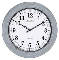 "La Crosse 18"" Atomic Analog Wall Clock"