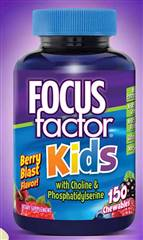FOCUSfactor Kids 150 Chewable Tablets