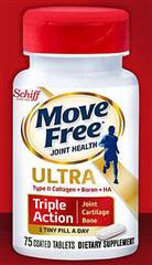 Schiff Move Free Ultra Triple Action Joint Supplement 75 Tablets