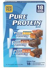 Pure Protein Bar Variety Pack 176 oz 18 ct